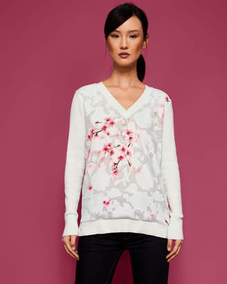 Ted Baker BRIEANA Soft Blossom sweater