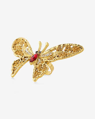 Express Butterfly Statement Ring