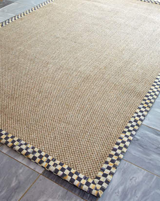 Mackenzie Childs MacKenzie-Childs Courtly Check Sisal Rug, 2' x 3'