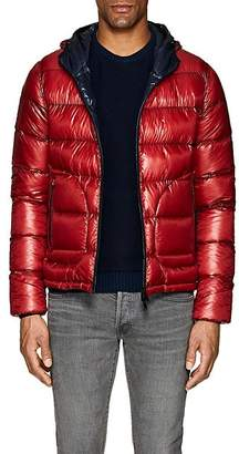 Herno Men's Hooded Ripstop Puffer Jacket - Red