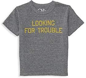 Chaser Little Boy's& Boy's Looking For Trouble Tee