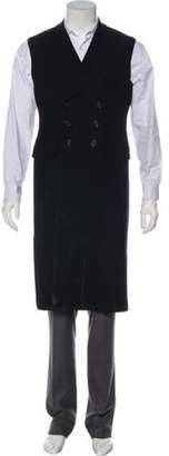 Alexander McQueen Longline Suit Vest black Longline Suit Vest
