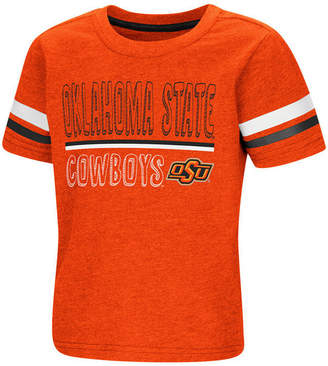 Colosseum Oklahoma State Cowboys Sleeve Stripe T-Shirt, Toddler Boys (2T-4T)