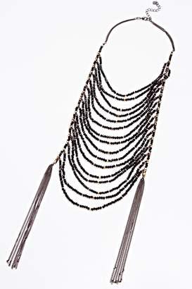 Nakamol Chicago Tiered Tassle Necklace