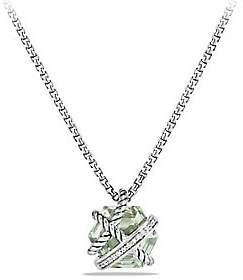 David Yurman Women's Cable Wrap Necklace with Gemstone & Diamonds