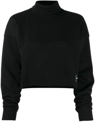 Calvin Klein Jeans slash hem sweatshirt