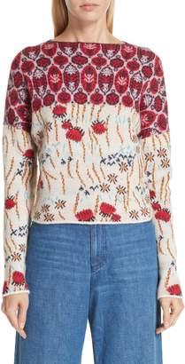 Rachel Comey Adieu Jacquard Alpaca Sweater