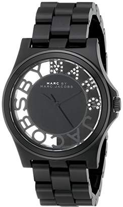 Marc by Marc Jacobs Women's MBM4572 Skeleton Stainless Steel Watch with Link Bracelet