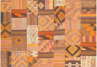 """One Kings Lane Vintage Patchwork Rug - 6'6"""" x 9'8"""" - Pasargad"""