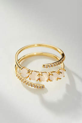 Anthropologie Studded Wrap Ring