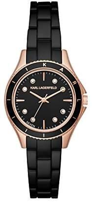 Karl Lagerfeld Women's 'Janelle' Quartz Stainless Steel Casual Watch