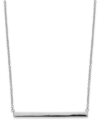 """Giani Bernini 18k Gold over Sterling Silver 16"""" Bar Necklace, Created for Macy's"""