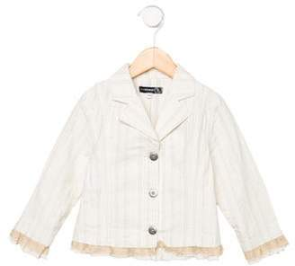 Jean Bourget Girls' Twill Jacket