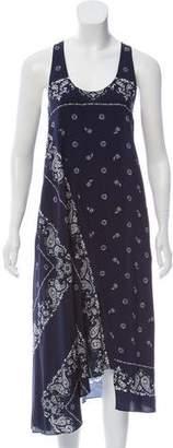 Theory Silk Sleeveless Dress