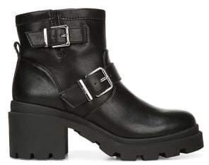 Sam Edelman Sinead Faux Leather Booties