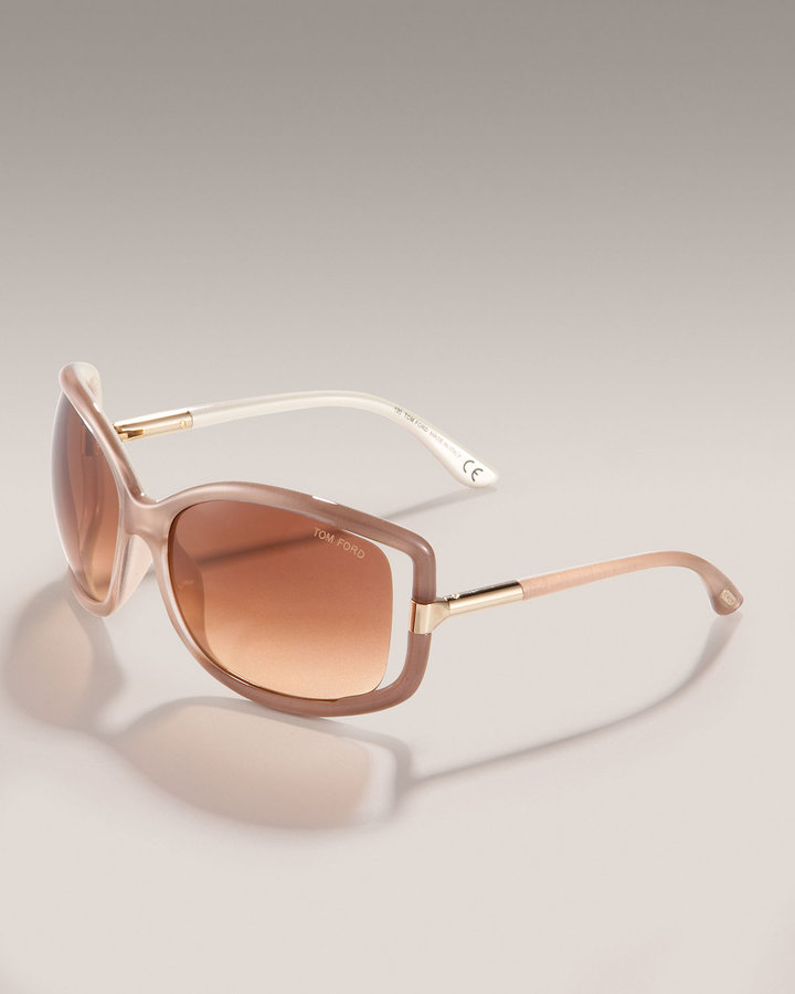 Tom Ford Anais Plastic Sunglasses