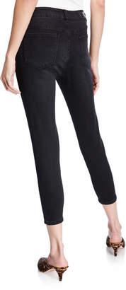 Velvet Heart Hanna Lace-Up Ankle Jeans