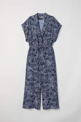 H&M Ankle-length Jumpsuit - Blue