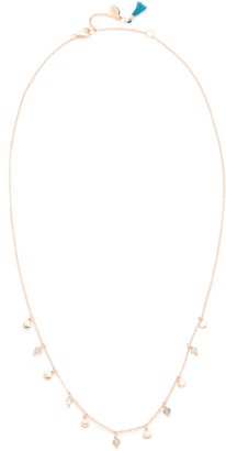 Shashi Disc Charm Necklace $79 thestylecure.com
