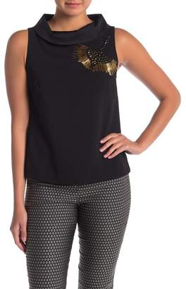 Trina Turk Kailee Front Embellished Tank Top