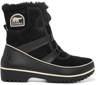 Sorel - Tivoli IiTM Waterproof Suede And Leather Boots - Black
