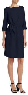 Emporio Armani Knotted Shift Dress