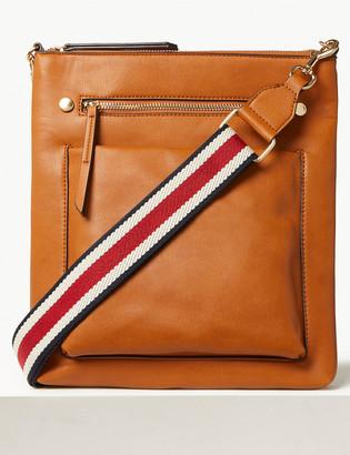 Marks and Spencer Webbing Strap Messenger Bag