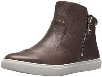 Gentle Souls by Kenneth Cole Women's CAROLE DOUBLE ZIP MID-TOP SNEAKER Shoe