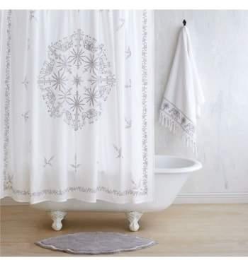 Yaji Shower Curtain