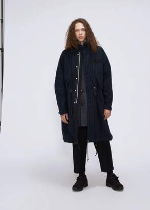 Sacai Pinstripe Coat
