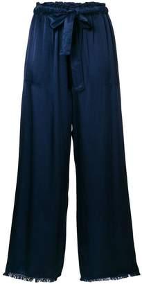 Raquel Allegra satin trousers