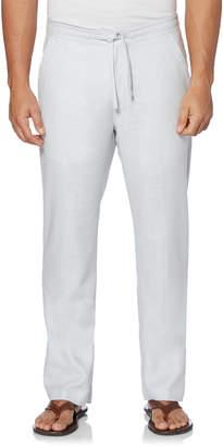 Cubavera Linen Textured Pant With Back Elastic