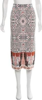 Rachel Zoe Knit Midi Skirt