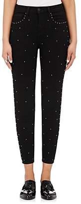 L'Agence Women's Capitola Jewel-Studded Skinny Jeans