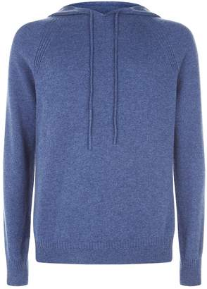 Harrods Long Sleeve Cashmere Hoodie