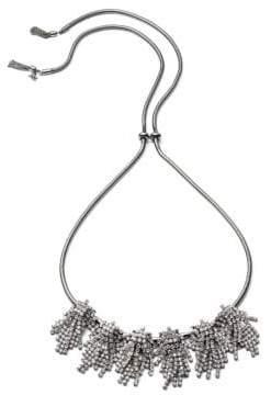 ABS by Allen Schwartz Rhinestone Frontal Necklace