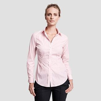 Sasha Stripe Double Cuff Shirt $165 thestylecure.com