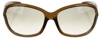 Tom Ford Tinted Round Sunglasses