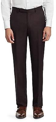 Ermenegildo Zegna Men's Classic Textured Pants