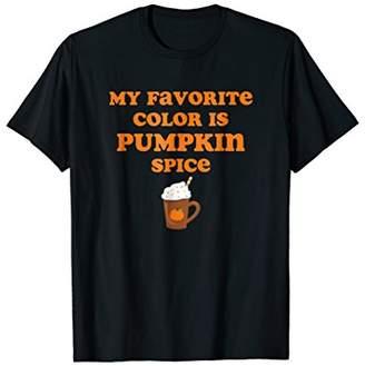 Funny Pumpkin Spice Latte Lover Gift T-Shirt