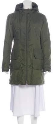 ADD Puffer Coat Olive Puffer Coat