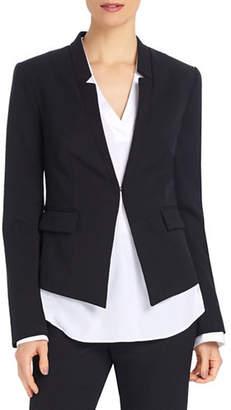 Ellen Tracy Petite Reverse Notch Collar Jacket