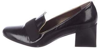 Lanvin Patent Leather Mid-Heel Pumps