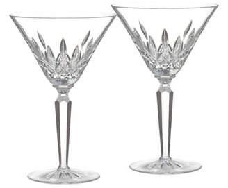 Waterford WEDGWOOD Classic Lismore Cocktail Glass Set Of 2