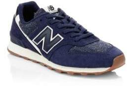 New Balance Commercial 696 Mesh& Suede Sneakers