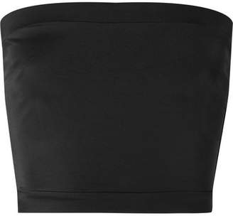 Solid & Striped The Bella Bandeau Bikini Top - Black