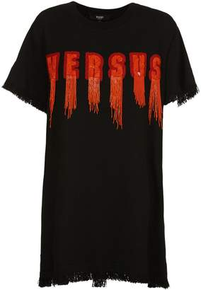 Versace Versus Elongated Logo T-shirt