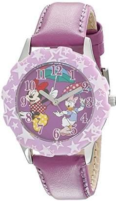 Disney Kids' W001975 Minnie Mouse Analog Display Analog Quartz Watch
