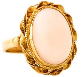 Ring 18K Coral yellow 18K Coral