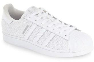 Women's Adidas 'Superstar' Mesh Sneaker $79.95 thestylecure.com